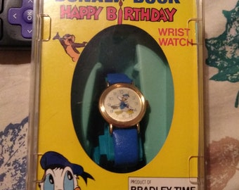 Donald Duck happy birthday watch