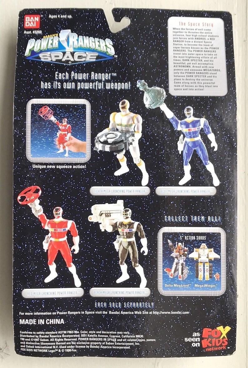 Saban/'s Power Rangers In Space Blue Mega Launching Power Ranger NEW 1997 Bandai