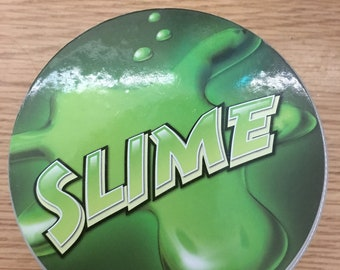 Green snow slime