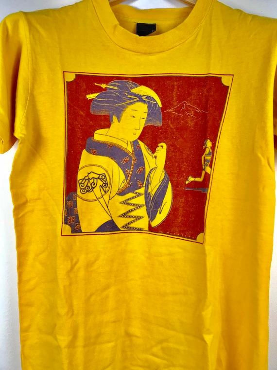 Estresante Bebida crimen  Mega Rare Vintage NIKE GEISHA cascade runoff tshirt | Etsy
