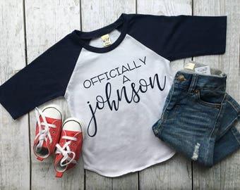 3a55cfce Adoption Shirt | Adoption t-shirt | Gotcha shirt | Officially Adopted |  Adopted | Personalized Adopted Shirt
