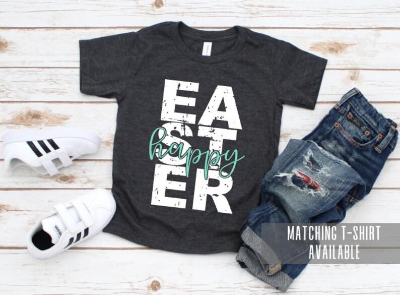 Happy Easter onesie Easter onesie for baby Kids Easter onesie | Easter onesie Easter outfit for baby Easter outfit Kids Easter