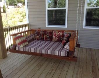 Custom porch swing