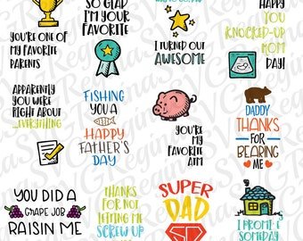 SVG BUNDLE Father's day bundle SVG Cool dad bundle first father day Svg Digital cutting file Die Cuts file dxf png eps files clipart file