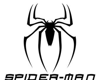 Spiderman SVG, Spiderman Logo Svg, Dxf, Eps, Ai, Png and Pdf Cutting Files for Electronic Cutting Machines Silhouette Cut Files, Cricut