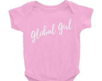 Global Girl Infant Bodysuit