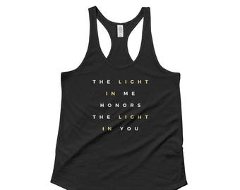 The Light in Me Ladies' Racerback Tank
