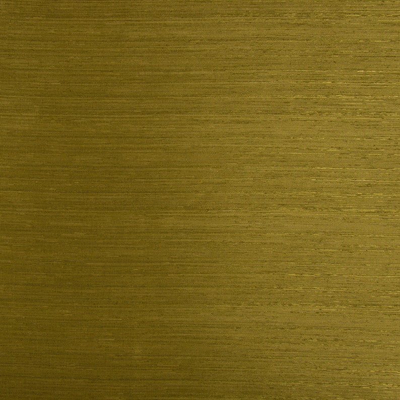 Curtain fabric Decorative fabric Tangiers cross stripes olive green shimmering 1.47 m width