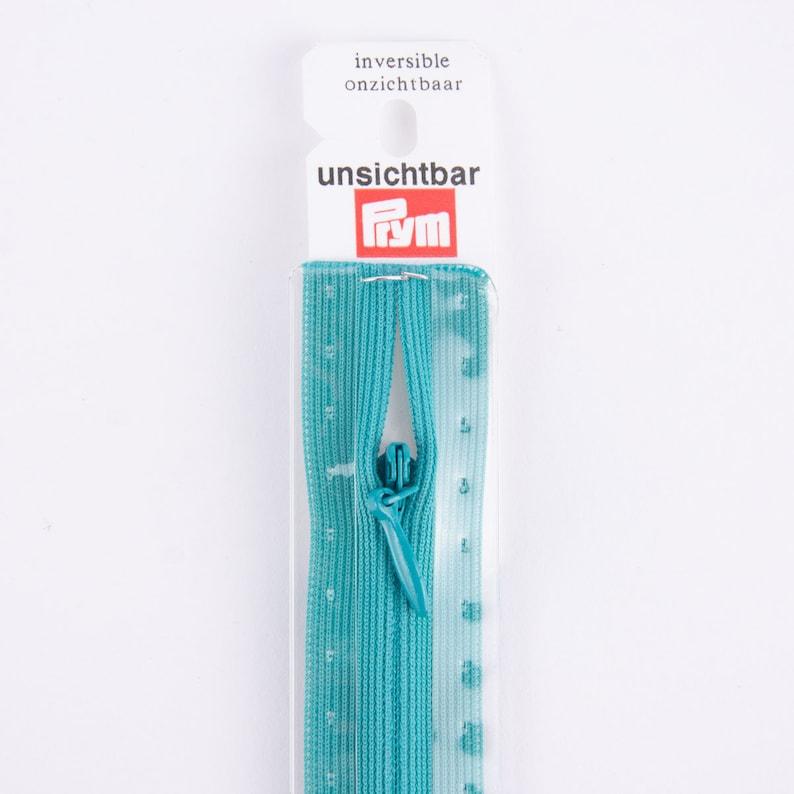 Prym zip invisible RV S6 Type 0 ut 22 cm USB Fla blue turquoise