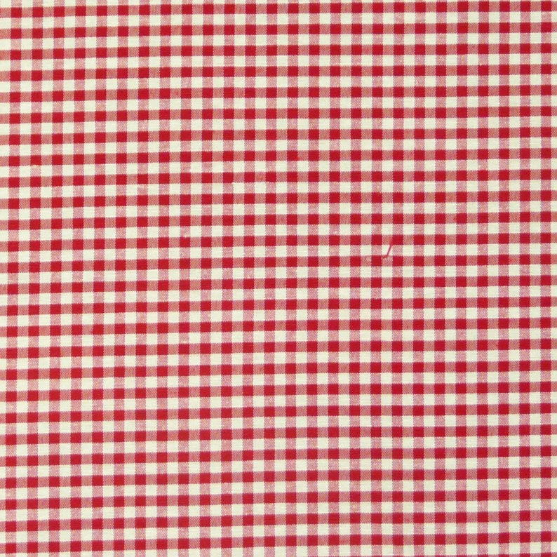 Draped fabric fabric furnishing fabric squared red white