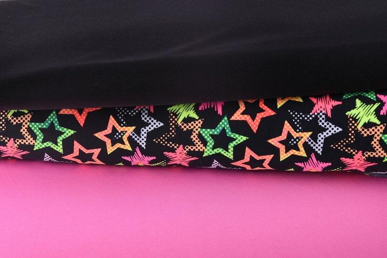 Creative fabric elastic Fashion fabric Uni Black