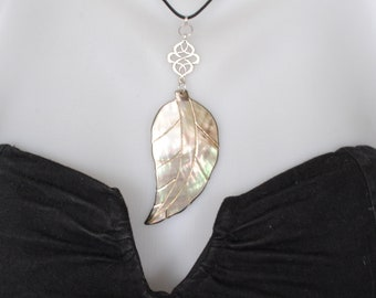 Mother of Pearl pendant ~ ~ nature and light ~ ~