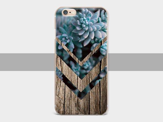 Bois succulentes étui étui pour iPhone 6 cas iPhone bois succulentes 7 case Étui pour iPhone 8 iPhone 5 s pour Samsung Galaxy S4 cas