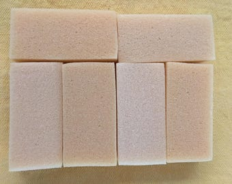 6 foam sponges 1 1/2 inch by 3 1/2 inch crafting supplies