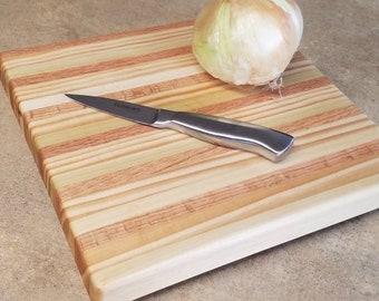 Hand-made Wooden Butcher Block