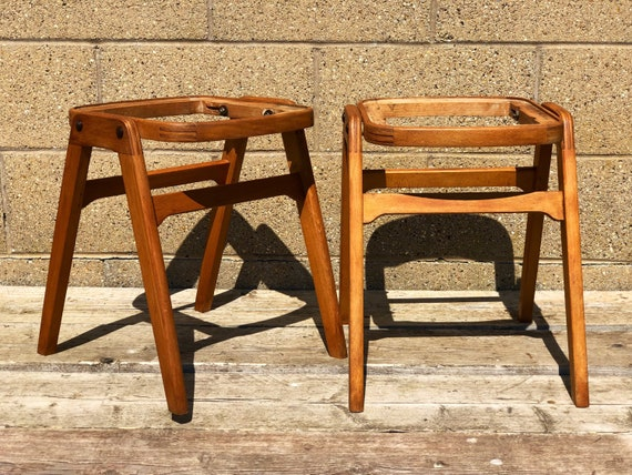 A Pair of Vintage Stacking Ben Stools - Commission Me!