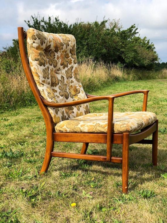 An Autumnal Vintage Parker Knoll 70s Lounge Armchair