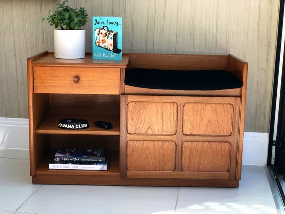 Nathan Telephone/Hall Storage Unit with Seat