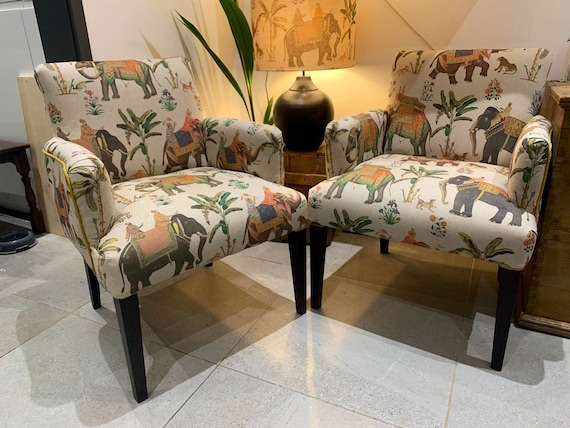 Statement Chair Office/Dining/Bedroom Professionally Upholstered