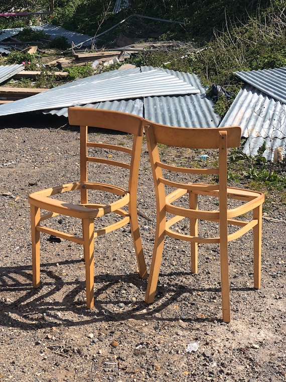 A Pair of Retro Kitchen/Dining Chairs  - Customise Me!