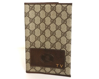 GUCCI monogram TV guide Cover Pouch GG print vintage gucci Ophidia
