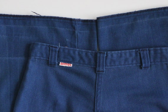 70s Ditto Jeans, 70s bell bottom jeans, pants, 70… - image 8