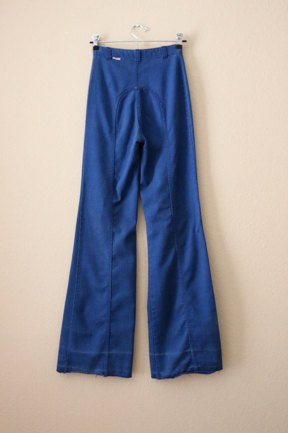 70s Ditto Jeans, 70s bell bottom jeans, pants, 70… - image 7