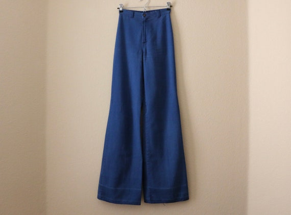 70s Ditto Jeans, 70s bell bottom jeans, pants, 70… - image 1