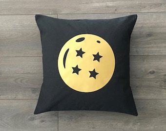 Dragon Ball Inspired Throw Pillow Cover