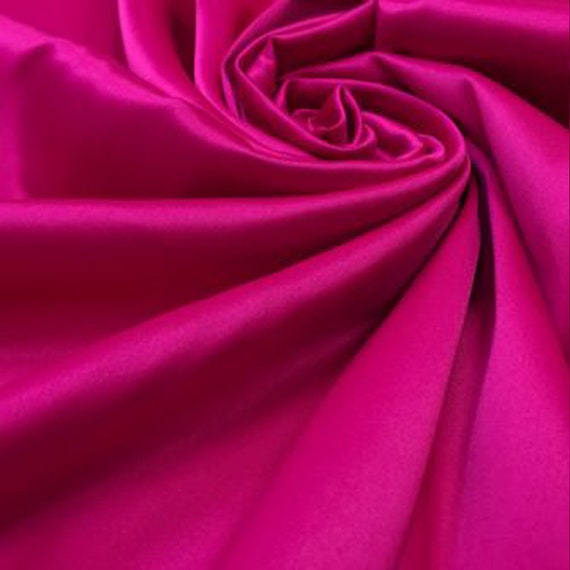 3 yards burgundy red bridal satin heavy weight fabric new close out material