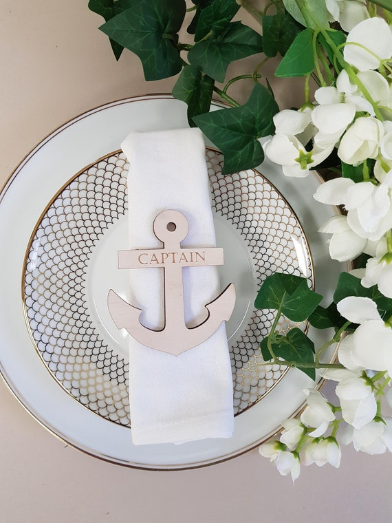 Anchor Shaped Wedding Place Names
