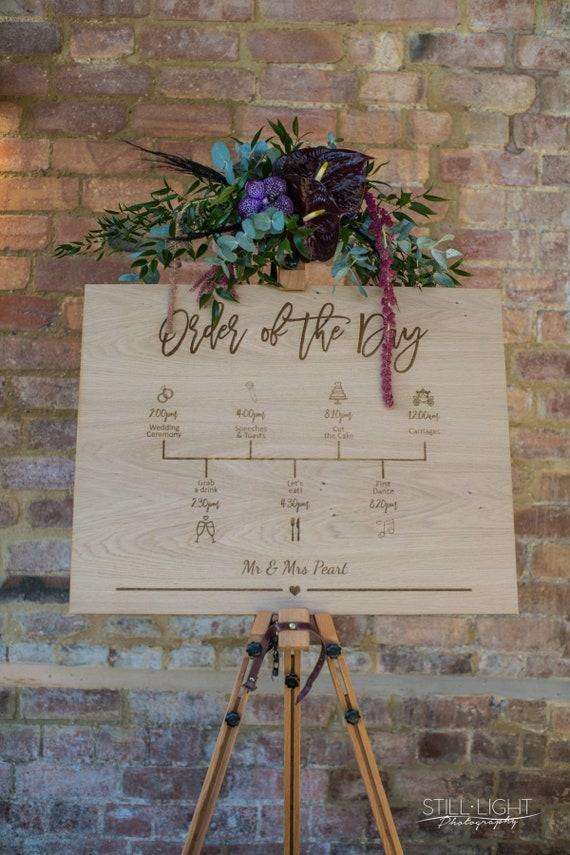 Order of the Day Timeline Design