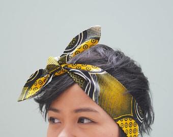 Headband yellow Wax