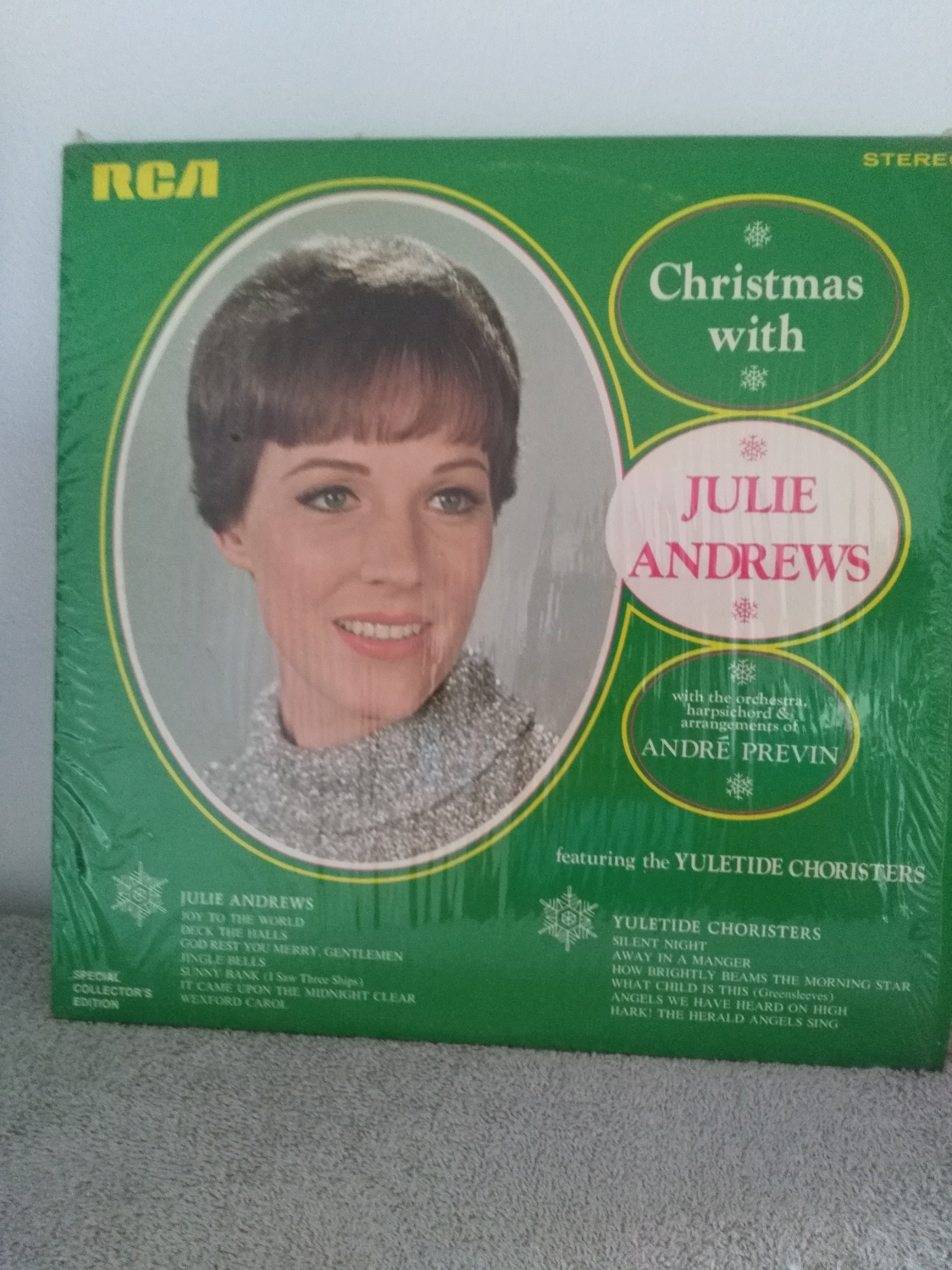 Christmas Julie Andrews Record Special Collector\'s | Etsy
