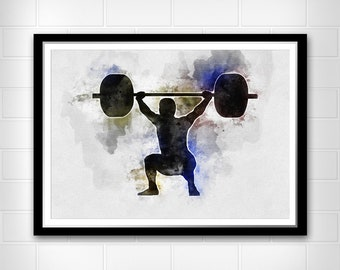 Weightlifter Etsy
