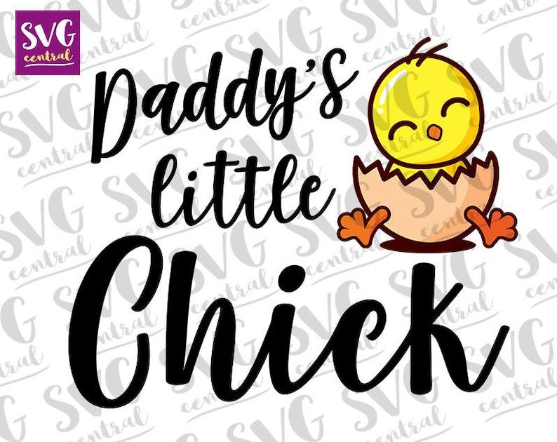 Png Svg Cameo Crafting easter onesie Cricut svg Dxf commercial use Jpg nursery printable Little Chick svg Kawaii svg svg file
