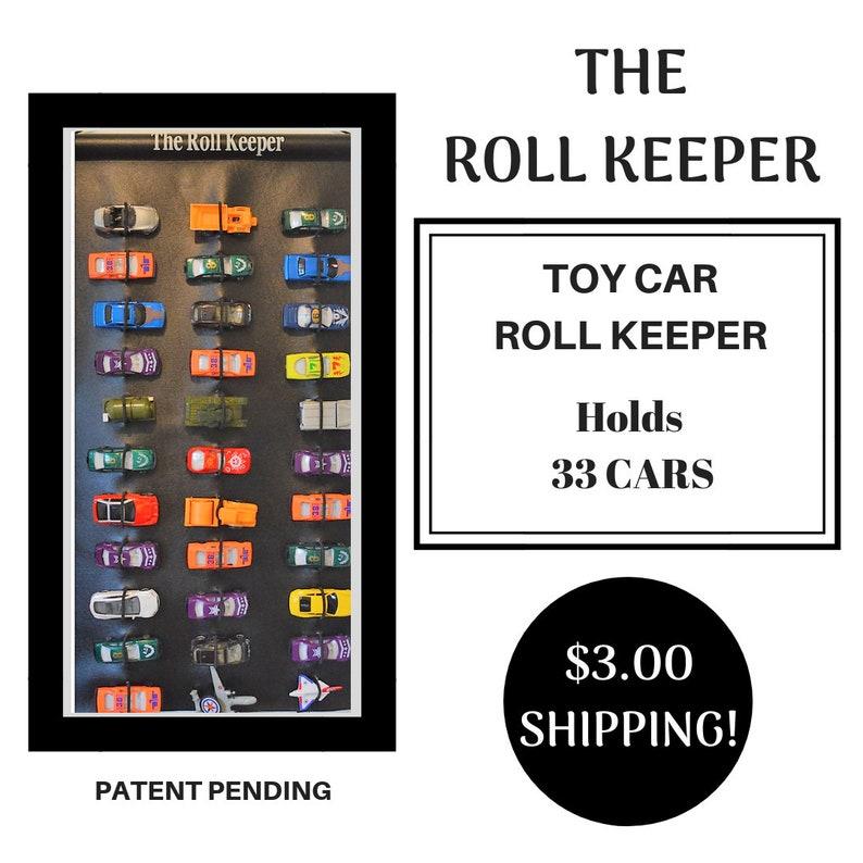 Toy Car Storagedie Cast Carstoy Storagethe Roll Keeper Etsy