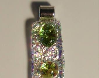 Glass fusion pendant