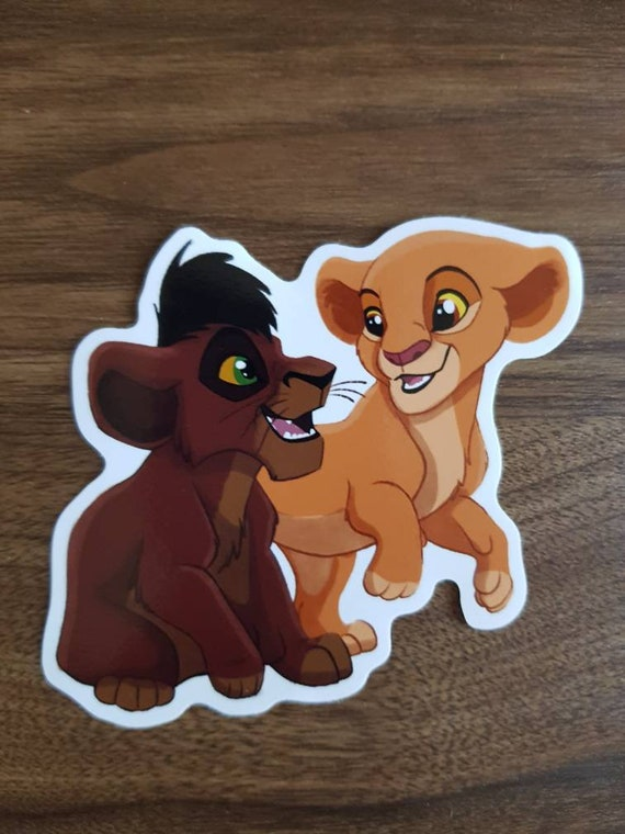The Lion King 2 Simba S Pride Kiara And Kovu Original Etsy