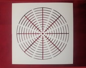 Concentric Circle Stencil (Many Sizes)