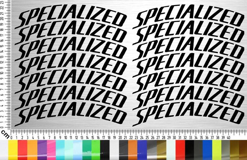 SPECIALIZED BIKES 02 Sticker Set 14-piece 26  27.5  28  29 image 0