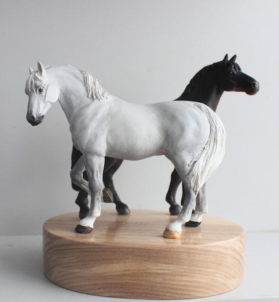 Home Rustic Farmhouse decor Horse Whistle pottery Horse gift Ceramic figurine Raku Horse figurine Horse decor statues