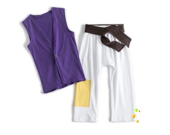 Ready to Ship,Aladdin Boy Costume Birthday,Aladdin Birthday,Cosplay,Aladdin Toddler Outfit,Shirt and Pants