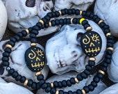 VooDoo Skull Bracelet Saints VooDoo
