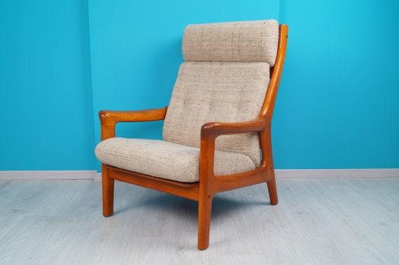 Danish Teak Relaxlounge Chair Sessel 60er Thams Designer High Back