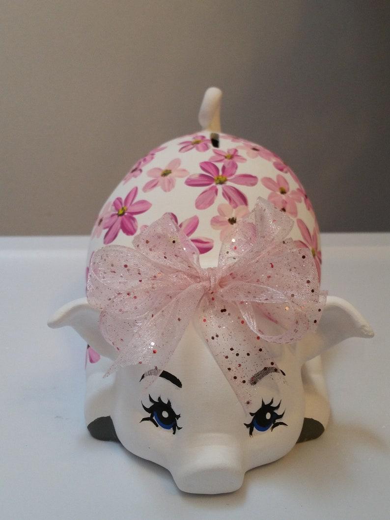 Piggy bankpersonalized piggy bankcustom piggy bankgirls piggy bankceramic piggy bankbaby giftbaby shower giftbirthday gift