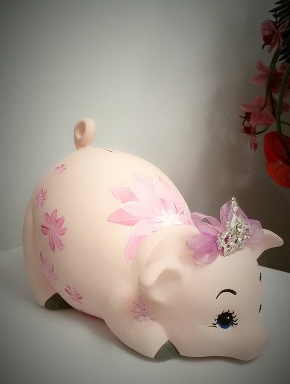 Boys piggy bankpiggy bankpersonalized piggy bankbaby/'s giftbaby shower gift