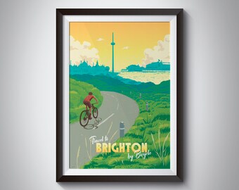 Brighton And Hove 2 Travel Holiday Beautiful View Poster Beach Free Time Photo