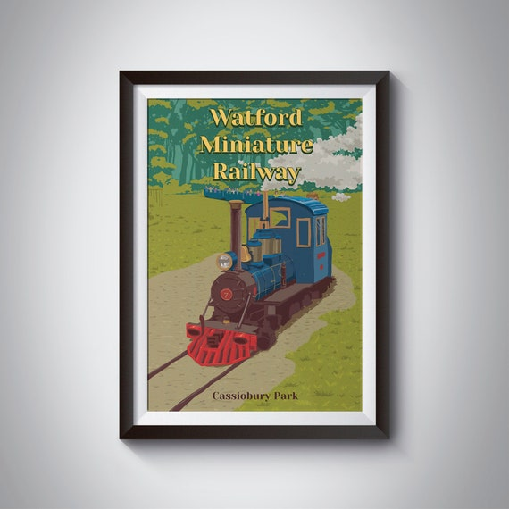 Vintage Cheshire Railway Travel Poster Great quality Great Gift Idea A4