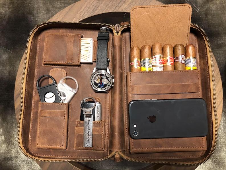 Cigar Leather Case Santa Clara Series  6d4417d92d1